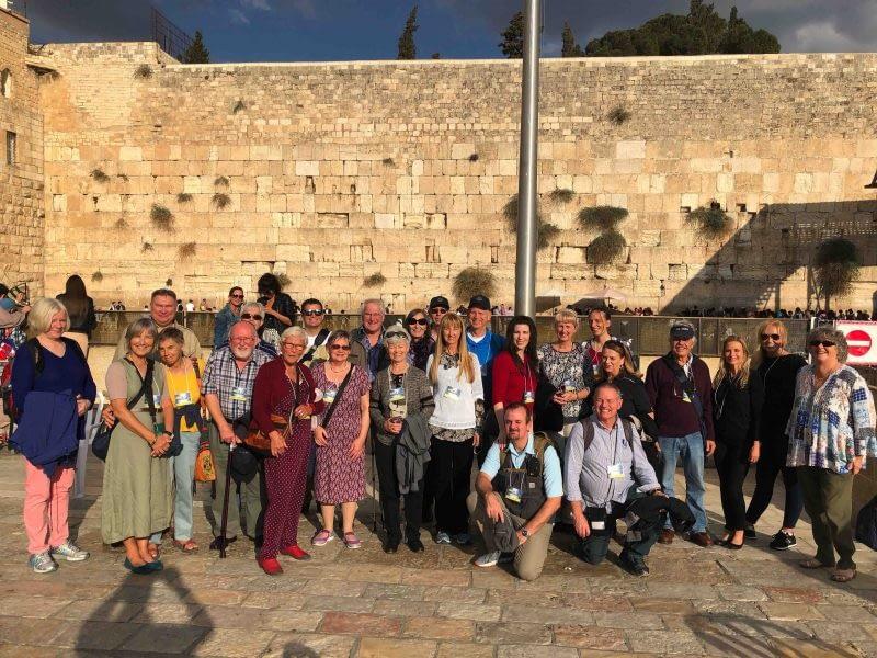 Group At the Wall